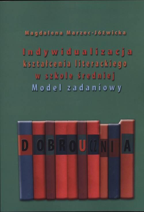 Indywidualizacja kształcenia literackiego - okładka książki