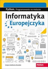 Informatyka Europejczyka. Python. - okładka podręcznika