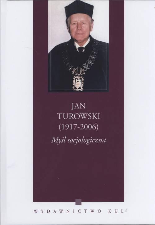 Jan Turowski (1917-2006). Myśl - okładka książki