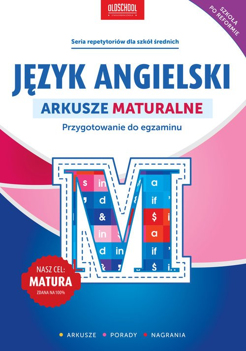 Język angielski. Arkusze maturalne - okładka podręcznika