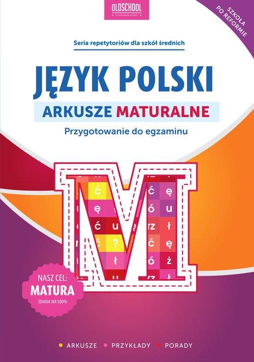 Język polski. Arkusze maturalne - okładka podręcznika