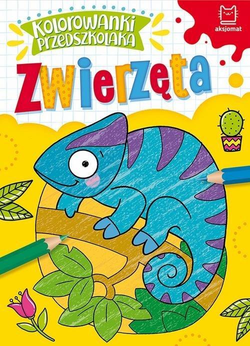 Kolorowanki przedszkolaka. Zwierzęta - okładka książki