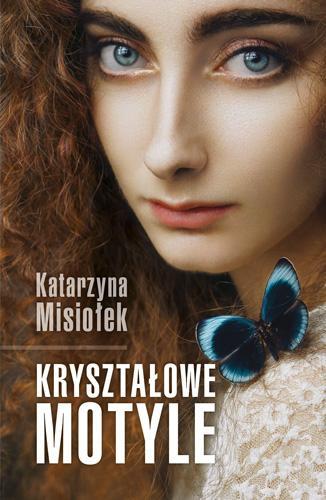 Kryształowe motyle - okładka książki