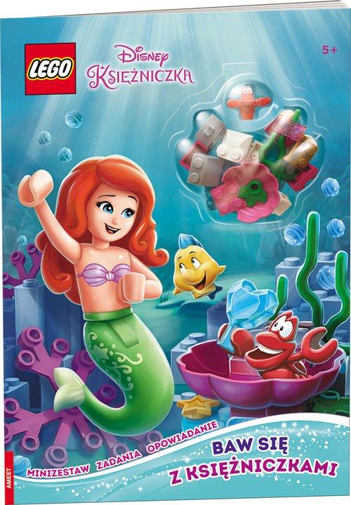 Lego Disney Princess. Baw sie z - okładka książki