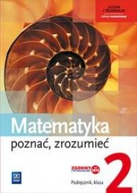 Matematyka. Poznać, zrozumieć LO. - okładka podręcznika