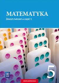 Matematyka SP 5/1 ćw. - okładka podręcznika