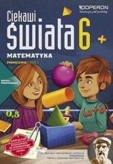 Matematyka Klasa 6. Szkoła podstawowa. - okładka podręcznika