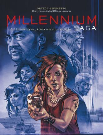 Millenium. Saga. Tom 3. Dziewczyna, - okładka książki