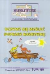 Miniatury matematyczne 12. Uczymy - okładka książki