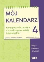 Mój kalendarz cz. 4 - okładka podręcznika