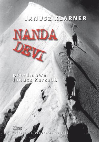 Nanda Devi - okładka książki