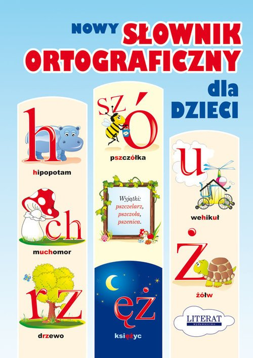 Nowy słownik ortograficzny dla - okładka książki