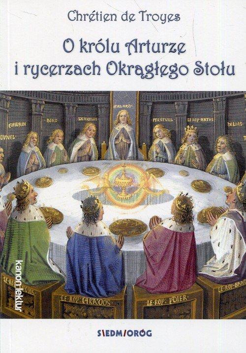 O królu Arturze i rycerzach Okrągłego - okładka podręcznika