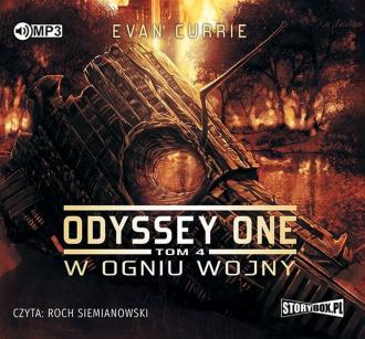 Odyssey One. Tom 4. W ogniu wojny - pudełko audiobooku