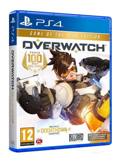 Overwatch GOTY PS4 - okładka płyty