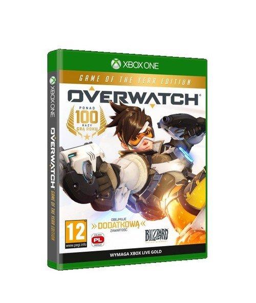 Overwatch GOTY Xbox One - okładka płyty