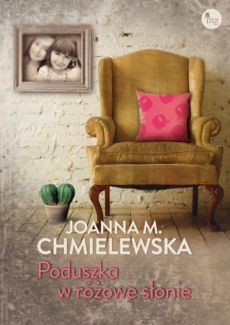 Poduszka w różowe słonie - okładka książki