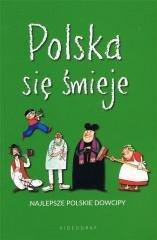 Polska się śmieje. Najlepsze polskie - okładka książki