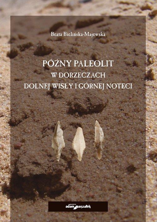 Późny paleolit w dorzeczach Dolnej - okładka książki