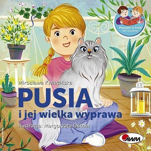 Pusia i jej wielka wyprawa przygód - okładka książki