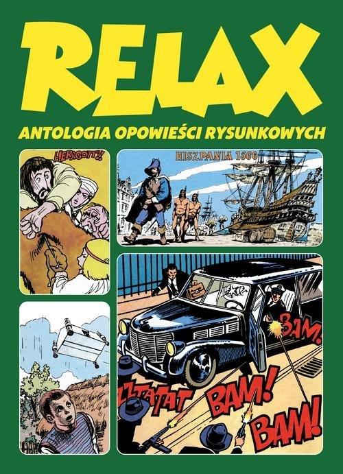 Relax Antologia opowieści rysunkowych. - okładka książki