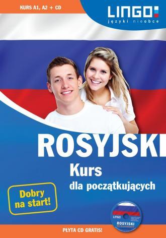 Rosyjski kurs dla początkujących - okładka podręcznika