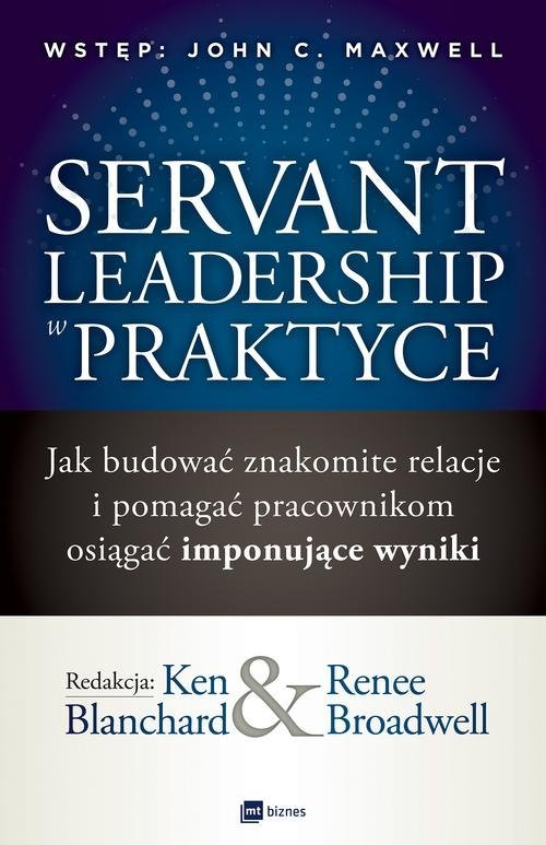 Servant Leadership w praktyce. - okładka książki
