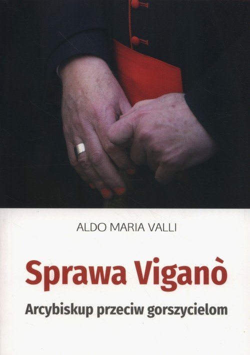 Sprawa Vigano - okładka książki