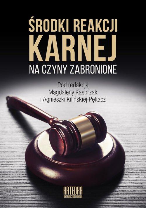 Środki reakcji karnej na czyny - okładka książki