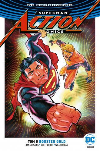 Superman Action Comics. Tom 5 - okładka książki