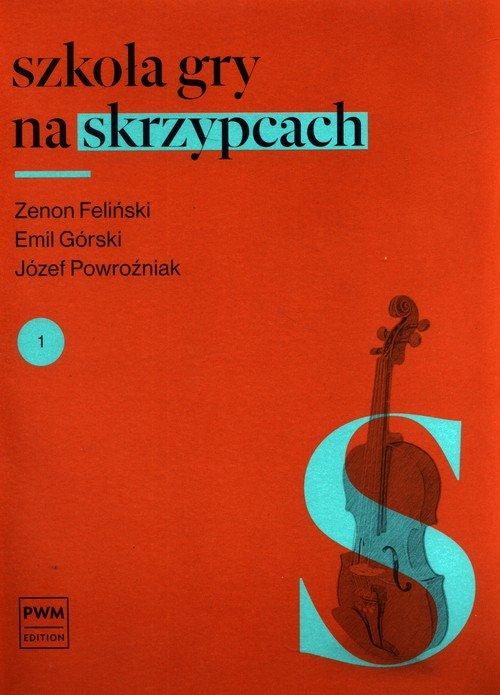 Szkoła gry na skrzypcach cz. 1 - okładka podręcznika