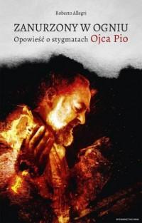 Zanurzony w ogniu. Opowieść o stygmatach - okładka książki