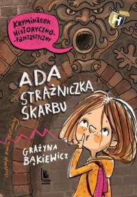 Ada, strażniczka skarbu - okładka książki