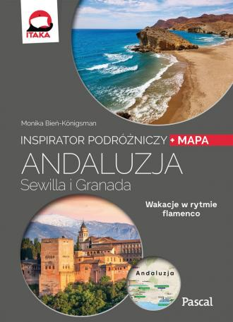 Andaluzja, Sewilla i Granada. Inspirator - okładka książki