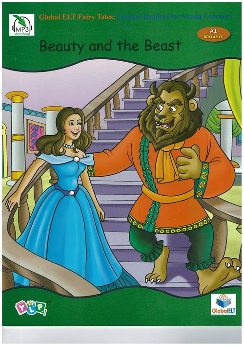 Beauty and the Beast - okładka książki