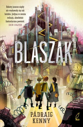 Blaszak - okładka książki