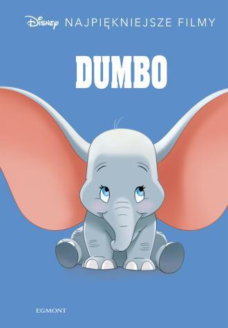Dumbo Disney. Najpiękniejsze filmy - okładka książki