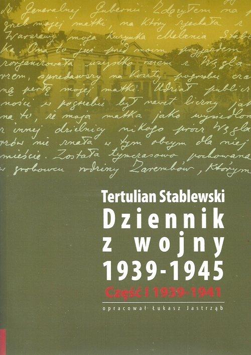 Dziennik z wojny 1939-1945. Tom - okładka książki