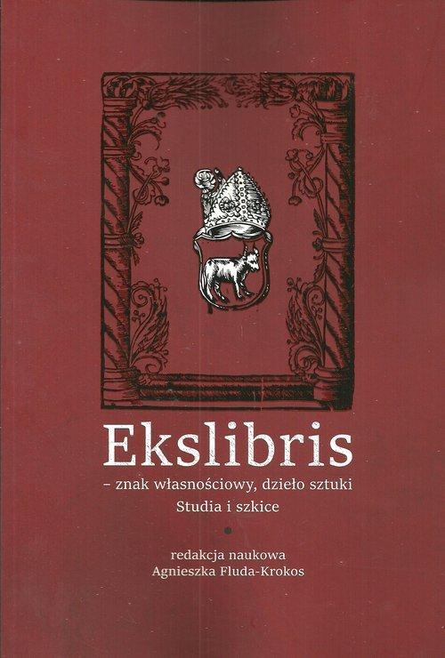 Ekslibris - znak własnościowy, - okładka książki