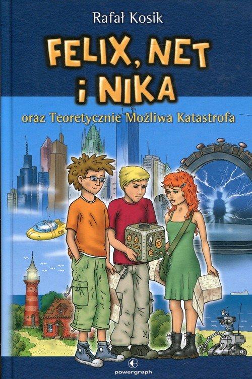 Felix Net i Nika oraz Teoretycznie - okładka książki