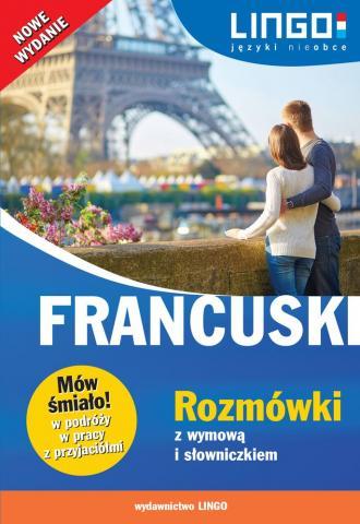 Francuski. Rozmówki z wymową i - okładka podręcznika