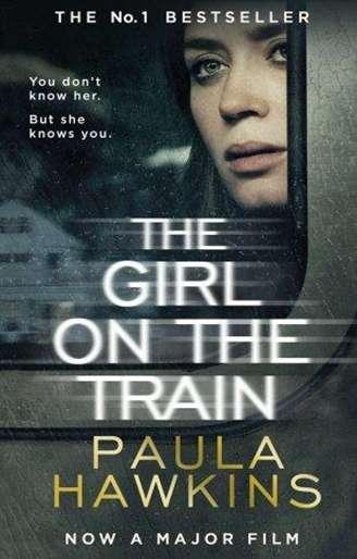 Girl on the train - okładka książki