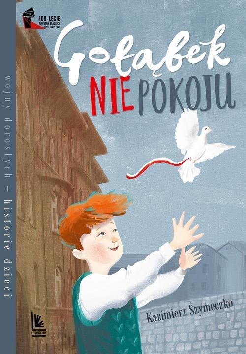 Gołąbek niepokoju - okładka książki