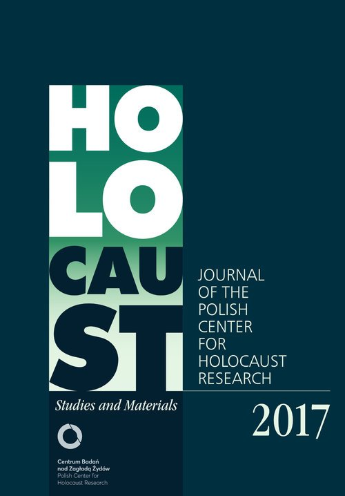 Holocaust Studies and Materials - okładka książki