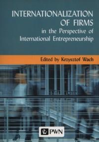 Internationalization of  Firms - okładka książki