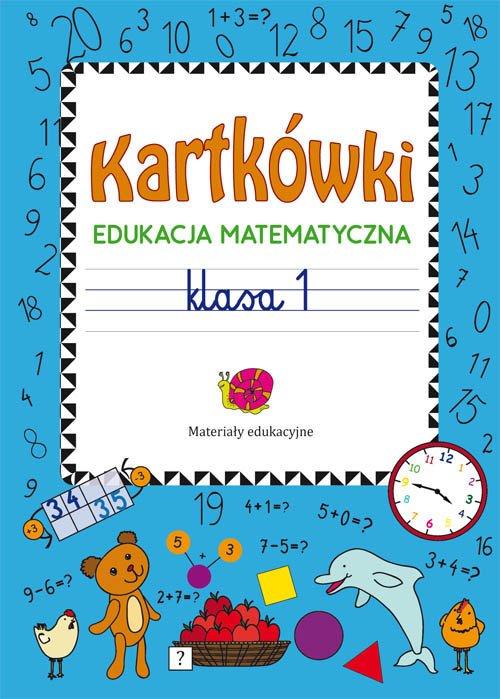 Kartkówki Edukacja matematyczna - okładka podręcznika