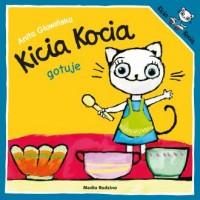 Kicia Kocia gotuje - okładka książki