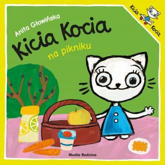 Kicia Kocia na pikniku - okładka książki