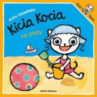 Kicia Kocia na plaży - okładka książki