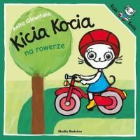Kicia Kocia na rowerze - okładka książki